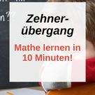Zehnerübergang Plus in 10 Minuten gelernt