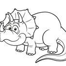 Kleurplaat dinosaurus: 54 allerbeste kleurplaten dino's