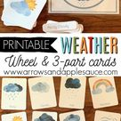 Learning About The Weather   Printables & A Freebie