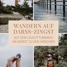 Wandern auf Darß-Zingst: Eine Herbstwanderung auf dem Leuchtturmweg zu den Hirschen