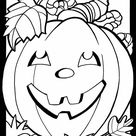 Free Fall and Halloween Coloring Pages