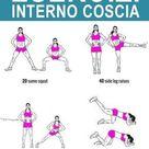 5 esercizi per rassodare l'interno cosce