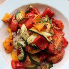 Warm Mediterranean Buckwheat Salad