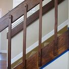 '80s Banister and Entryway Update