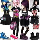 Cute Punk Outfits