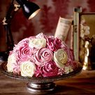 Rosen-Torte mit Johannisbeeren Rezept  | LECKER