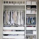 Begehbarer Kleiderschrank für kleines Zimmer- Ideen & Tipps