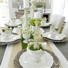 Easter Table Settings