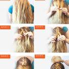 Schulterlange Haare flechten: 15+ kinderleichte Anleitungen für jeden Tag - DIY, Frisurentrends - ZENIDEEN