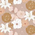 Floral Pattern Design wi