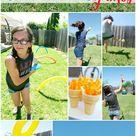 Outdoor Activities for Children - Host Your Own Backyard Games