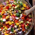 Mediterraner Kichererbsen-Meal Prep-Salat (20 Minuten!) - Kochkarussell