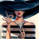 Fashion Illustration Chanel