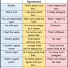+35 English Phrases with Express Agreement, Partial Agreement and Disagreement - English Study Here