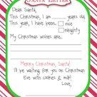 Manic Monday Freebie {Santa Letter}