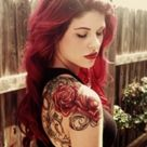 Red Hair Tattoos