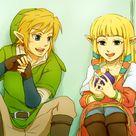 Zelink Fan Art: Link x Zelda~♥
