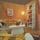 Orange Living Rooms