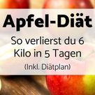 Apfel-Diät: So verlierst du 6 Kilo in 5 Tagen (Inkl. Diätplan) - Foodgroove
