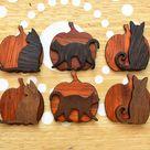 Halloween Cat Accessory, Halloween Pin, Halloween Necklace, Halloween Magnet, Halloween Decor