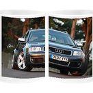 Audi RS6 Quattro Avant. Photo Mug. Audi RS6 Quattro Avant.