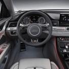 2013 Audi S8 interior