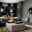 Charcoal Living Rooms