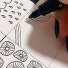 Doodle Pattern Tutorials