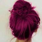 Hot Pink Hair