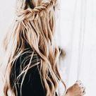 Gorgeous Braided Half Up Half Down Hair Styles   DIY Darlin' in 2020   Hair styles, Long hair styles