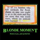 Blonde Moments
