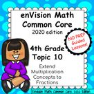 enVision Common Core 2020 Topic 10 Extend Multiplication Concepts to Fractions