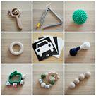Montessori Friendly Toys 4 – 6 Months Old