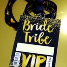 Bride Tribe Vip Hen Party Neck Lanyards
