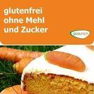 Saftiger, veganer Möhrenkuchen - glutenfrei, ohne Mehl und Zucker | gesunex