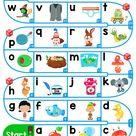 A-Z Lower Case Alphabet - ESL Board Game