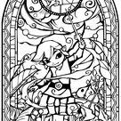 Wind Waker Glass Church Window by Cetanu12 on DeviantArt