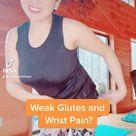 Wrist pain with Weak Glutes? Wrist friendly Glutes Focused Pilates Workout Progression