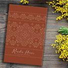 New! Ramadan Planner & Integrated Qur'an Journal: Rust