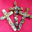 Embellished glitter crosses by janedean on DeviantArt