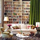 White Bookshelves