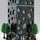 Dieses LEGO Haus ist ein architektonischer Kracher   zusammengebaut