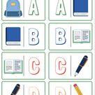 Stationary in English - Impara gli oggetti scolastici in Inglese con il Domino di Redooc
