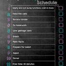 Daily Chore Charts