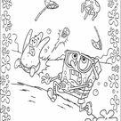 Free Printable Spongebob Squarepants Coloring Pages For Kids
