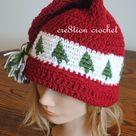 Crochet Christmas Hats