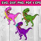 Dinosaur - wearing accessories