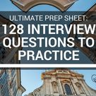 128 Free Practice Interview Questions - Sample Behavioral Questions and More