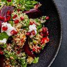 Leichte Küche: Quinoasalat mit Granatapfel und Walnüssen   freundin.de