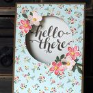 Sketch Challenge Card using Hello There from Stampin' Up